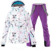 Amazing offer on Women's Ski Jackets  Pants Set Windproof Waterproof Snowsuit online – Fancylookstar