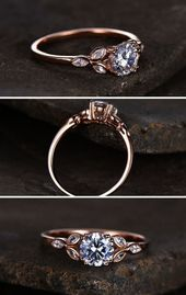 Diamond Ring – Trend 2018: Cultivated> Oval Solitaire Engagement Rings … Bague D …   – Ringe