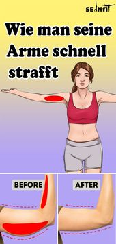Wie man seine Arme schnell strafft