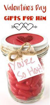Valentinstag Geschenke für Ihn! RIESIGE Liste mit lustigen, romantischen und lustigen Geschenken für mich …   – Create Nice