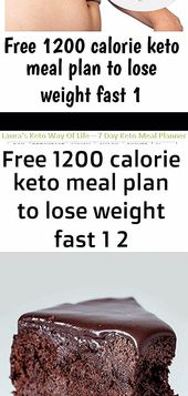 Want to lose weight fast? The 1200 Calorie Keto Meal Plan is disigned for easy w…