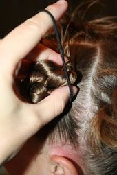 Kurze Frisuren: 4 chaotisch-Zopf Twists  #chaotisch #frisuren #kurze #twists