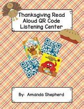 Thanksgiving Vorlesen Bücher QR-Code Hören Ce …