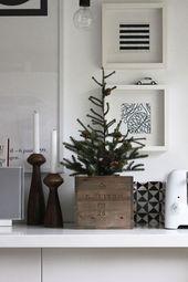 21 kleine skandinavische Weihnachtsdesigns, um Ihr…