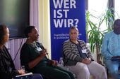 Podiums-Diskussion ufuq.de-Fachtag am 26.09.2019 mit Mirjam Gläser, Prof. Dr. M…