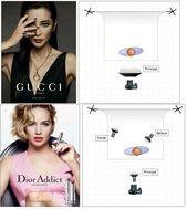 Studiobeleuchtung für Gucci und Dior ad
