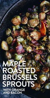 Maple Roasted Brussels Sprouts with Bacon   – OGT Blogger Friends