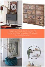 INOSIGN Kommode, Breite 80 cm, mit modernem Kufengestell aus Metall #wohnen #Dek…
