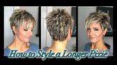 Hair Tutorial: Styling a Longer Pixie without Spikes! – YouTube