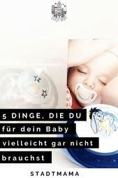 Unsere Nicht-Einkaufsliste für Babys   Unsere unnötigsten Anschaffungen