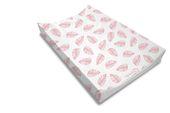 Baby Ilustration PALM BAY Anti-Roll Changing Mat (Blush Pink) - Blush Pink