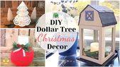 DOLLAR TREE CHRISTMAS DIYS | KOHLS INSPIRED | DOIL…