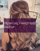 prom curly hairstyles helped up curly hair prom curly hairstyles halfway #prom #curly #hairstyles #half – # prom