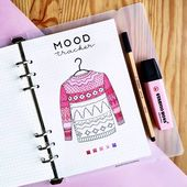 11 Ideen für das Creative Mood Tracker Bullet Journal – Ashley Ann Laz