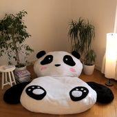 Oreiller panda XXL   – DIY Basteln & Selbermachen
