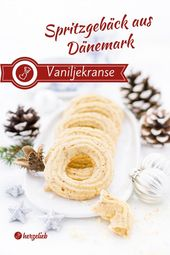 Vanilla jelly or vanilla wreaths – Recipe – Herzelieb