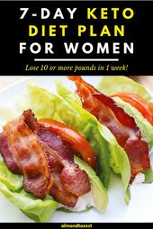 7-Day Keto Diet Meal Plan to Lose Weight Fast