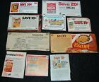 [ Vintage Coupons Lot #8 Crackers – Nabisco Keeble…