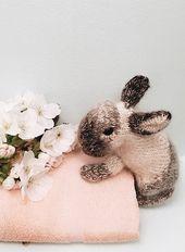 Cómo tejer un conejo de conejito: patrón gratuito y tutorial paso a paso