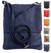 Photo of ital LADIES LEATHER BAG Shoulder Bag CrossOver Shoulder Bag iPad Tablet BAG: …