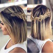 25 superbes coiffures de bal pour les cheveux courts #stunning # pour #hair #k …   – Frisuren