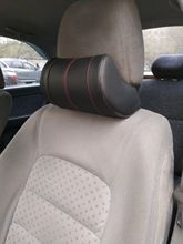 Online Shop 1 Stucke Pu Leder Auto Nackenkissen Memory Foam Kissen