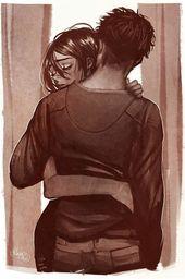 Die Verbindung, die wir haben, wenn wir jemanden umarmen, den wir lieben, ist anders, die Teile kommen zusammen …   – Ich⚘liebe♥️dich – #ander…