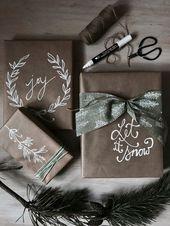 Geschenke schön verpacken mit Kraftpapier | MrsBerry Familien-Reiseblog | Über das Leben und Reisen mit Form