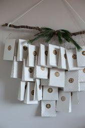 DIY Scandi Christmas Advent Calendar / My Scandina…