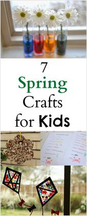 7 Enjoyable Spring Crafts and Actions for Youngsters