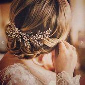 Women's Elegant Pearl Hair Comb