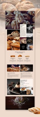 Bakery Web Template. Click and start edit this web template, wordpress theme, an…  – Startseiten