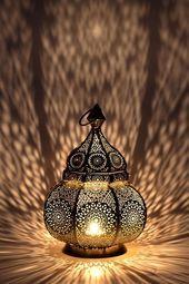 Orientalische Marokkanische Laterne Laterne Garten Metall Vintage Tischlampe Orientalische Einr Orientalische Laterne Laterne Garten Windlichter Garten