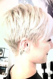 40 Blonde Short Hairstyles for Round Faces, #Blonde #Hairstyles # for #FACES #Short #Round …