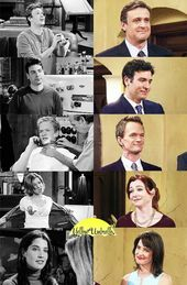 Then and Now How I Met Your Mother Cast. #HIMYM #Cast #ThenAndNow #Marshall #Ted…