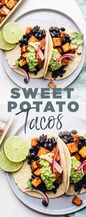 Easy Black Bean Sweet Potato Tacos