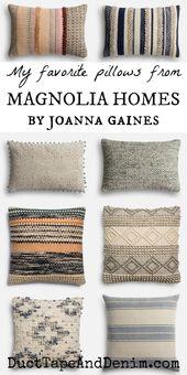 Wie man das Aussehen von Joanna Gaines Pillows auf…