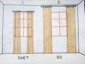 Es una ilusión óptica que funciona. De la decoración del apartamento en un presupuesto.