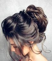 1001 ideas and inspirations for fantastic bun hairstyles #Hairstyles #Long #R … – Frisuren Dutt