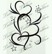 19  Ideas Tattoo Ankle Heart Initials,  #ankle #heart #ideas #initialtattoowithheart #Initial…