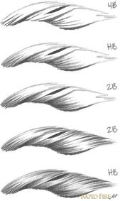 Tutorial: Drawing Short Hair – Very detailed tutorial with lots of pictures… – Healthy Skin Care #diytattooimages – diy tattoo images