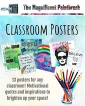 Classroom Posters: To the Art Room and Beyond!