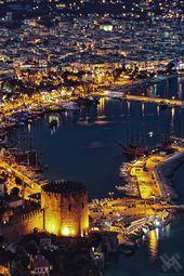 Alanya Red Tower .Turkey