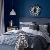 33 epische dunkelblaue Schlafzimmer-Design-Ideen, die Sie inspirieren