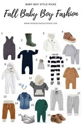 Fall Child Boy Vogue Favorites