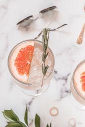 Erfrischender Gin Tonic Cocktail für den Sommer   – Cocktail Recipes
