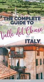 Valle del Chiese Information: The place to Eat, Sleep, and Play on this Italian Lakes Paradise