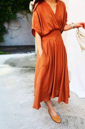 Summer season Lengthy Excessive Waist Feminine Costume Ladies Tunic V neck Attractive Unfastened Attire Garments