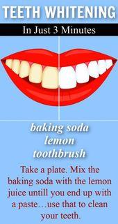 Photo of Was je mond hiermee om 3 tinten wittere tanden te krijgen in slechts 3 minuten #tanden
