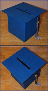 Self-Made Graduation Hat Box